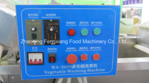 Wa-2000 Stainless Steel Bubble Ozone Vegetable Washing Machine, Lettuce Cleaning Machine pictures & photos