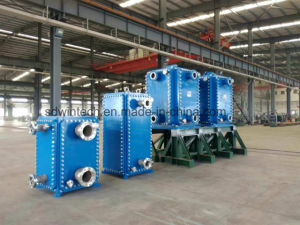 WBH 400 Herringbone Plate Type Heat Exchanger/Plate and Frame Heat Exchanger/Block Heat Exchanger pictures & photos