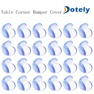 PVC Table Corner Bumper Protectors for Baby Safety pictures & photos
