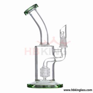 Top Selling Smoking Water Pipe 17inch Height Triple Honeycomb Birdcage Perc Glass Roor Percolator Glass Pipe Borosilicate Oil Rigs Glass Water Pipe pictures & photos