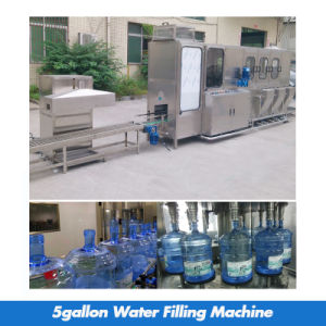 300bph 5 Gallon Bottle Water Filling Machine