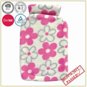 Flower Design Hot Water Bottle Cover pictures & photos