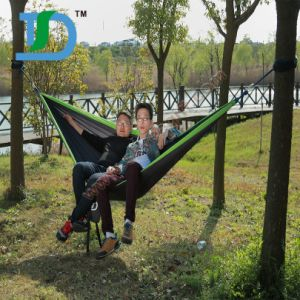 Portable 210t Parachute Nylon Camping Hammock Tent pictures & photos
