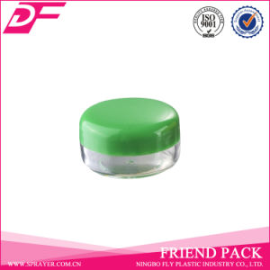 Nail Cream Powder Containers, 5g PS Transparent Cosmetic Jar