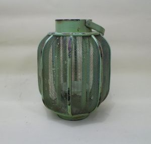 Light Green Copy Old Vintage Lantern Pure and Fresh and Natural Warmth