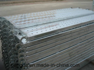 China SGS Scaffolding Steel Board/Plank pictures & photos