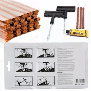 High Quality Tire Repair Kits - 28 Plug Strings, T-Handle and Cement pictures & photos