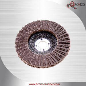 Aluminum Oxide Flap Disc Double Fitted pictures & photos
