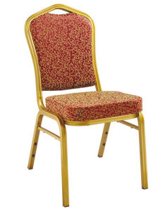 Promotion Steel Cheap Stackable Hotel Banquet Chair pictures & photos