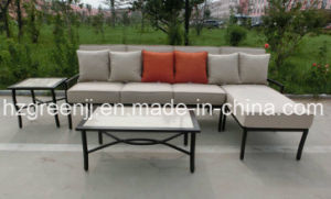 Aluminium Power Coating 4 Pieces Lounger Sofa Set Garden furniture pictures & photos