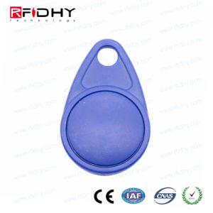 Rewritable Waterproof 125kHz ABS T5577 RFID Keyfob pictures & photos