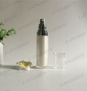 30ml Acrylic Cosmetic Lotion Bottle with Alumite Airless Pump (PPC-AAB-027) pictures & photos