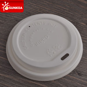 62mm 80mm 90mm Paper Cup PLA Plastic Lid pictures & photos