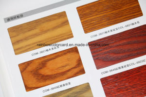 Wood Paint Color Card for Furniture Lacquer pictures & photos