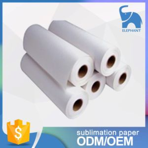 Cheap Dye Transfer Tacky Paper Sublimation 44inch Roll Design pictures & photos