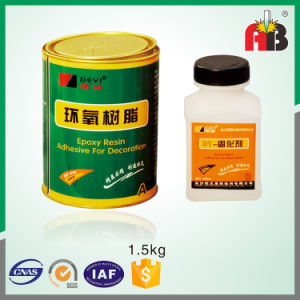 Dy-E602 Epoxy Resin Adhesive for Decoration pictures & photos