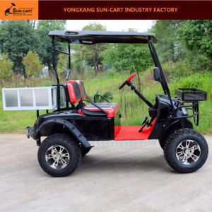 2 Seats Electric Transport Golf Cart with Cargo Box pictures & photos