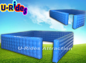 Customized inflatable air wall inflatable fence inflatable playground fence pictures & photos