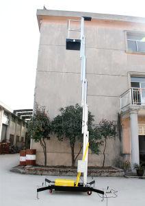 8meters Aluminium Hydraulic Aerial Platform (GTWY8-100 yellow&black) pictures & photos