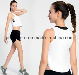 Women Breathable Quick-Drying Fitness Vest Wholesale Tank Top pictures & photos