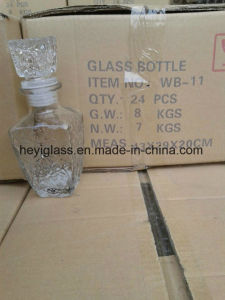 100ml~1L High Quality Glass Decanter with Various Shapes and Capacity pictures & photos