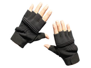 Army Tactical Half Finger Sports Gloves pictures & photos
