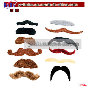 Party Items Mustache Party Fake Toy Beard Moustache (H8040) pictures & photos