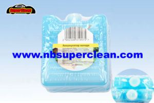 Reusable Plastic Gel Ice Brick Freezer Pack for Keeping Fresh of Fruit pictures & photos