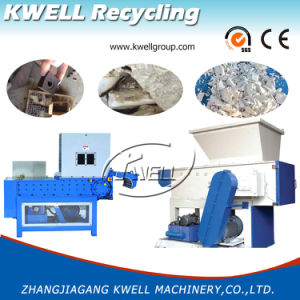 Single Shaft Plastic Shredder Machine with High Quality pictures & photos
