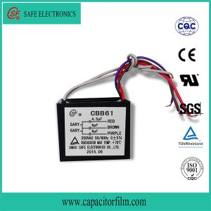 Cbb61 Ceiling Fan Capacitor pictures & photos