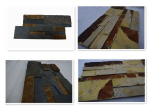 Various Colors Art Culture Stone Cladding Slate Culture Stone pictures & photos