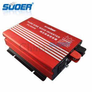 Suoer 24V 220V 1000W DC AC True Pure Sine Wave Inverter (FPC-H1000B) pictures & photos