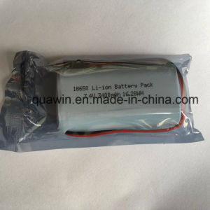2s1p 7.4V 3400mAh Panasonic Cell 18650 Lithium-Ion Battery Pack pictures & photos