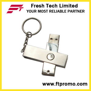Metal Rotation USB Flash Drive (D301) pictures & photos