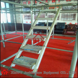 Galvanized Steel Step Ladders Working Platform for Building Construction pictures & photos