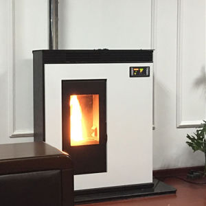 White Wood Pellet Stove with CE pictures & photos