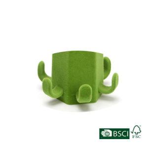 Creative Design Green Velvet Belt/ Tie Hanger pictures & photos