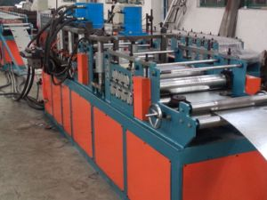 High Speed Durable Use Time Metal Fire Damper Roller Making Machine pictures & photos