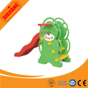 2016 Popular Colorful Cute Bear Slide for Kids Play pictures & photos