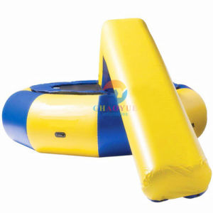 5m Inflatable Water Trampoline with Slide for Water Sports Game pictures & photos