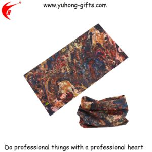 Customized Design Outdoor Scarf for Sports (YH-HS121) pictures & photos