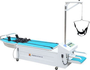 Physical Therapy Lumbar Traction Table pictures & photos