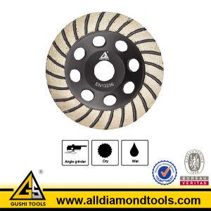 Segmented Turbo Diamond Grinding Wheel pictures & photos