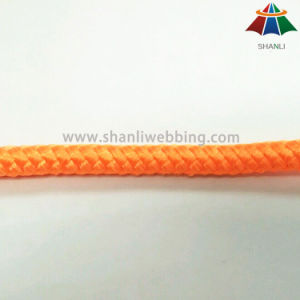 High Quality High Strength 10mm Solid Color Nylon / Polyester / PP Braided Rope / Cord pictures & photos