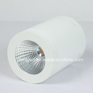 White/Black Shell COB LED Surface Mounted Downlight 7W 12W pictures & photos