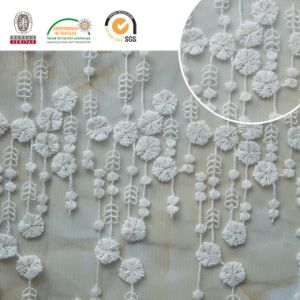 Mesh Delicate Lace Fabric, Fashion Design for Wedding and Daily Dress E30018 pictures & photos