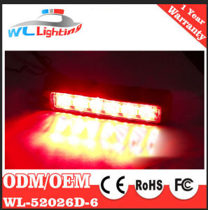 24V Police LED Warning Emergency Lights 6LED Grille Warning Lamp pictures & photos