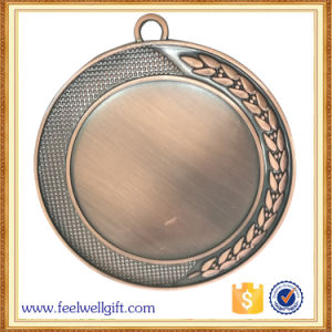 Customized Hot Sell Bronze Metal Blank Insert Medal for Souvenir pictures & photos