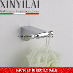 Bath Hardware Zinc Alloy Double Robe Hook pictures & photos