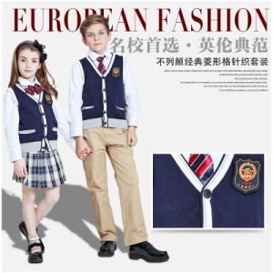New Style Kids School Uniforms in Public Schools of 100%Cotton pictures & photos